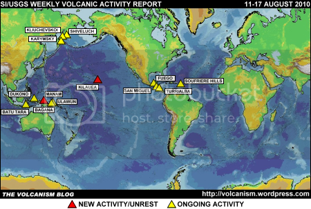 SI/USGS Weekly Volcanic Activity Report 11-17 August 2010