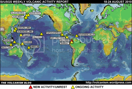 SI/USGS Weekly Volcanic Activity Report 18-24 August 2010